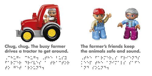 LEGO Braille