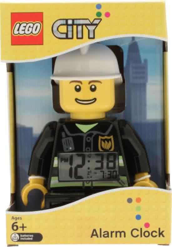 LEGO wekker brandweerman