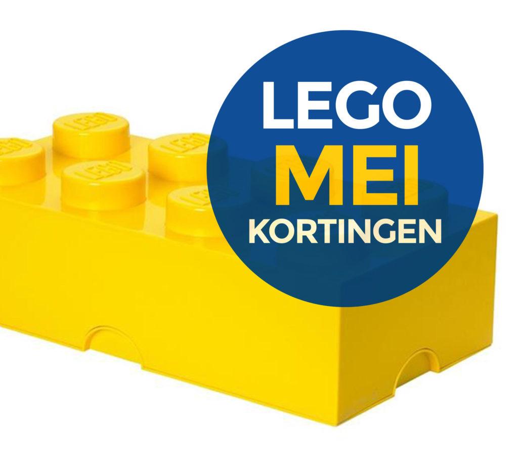 LEGO aanbiedingen mei 2018