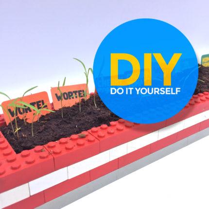 LEGO kweekbak voor moestuintjes