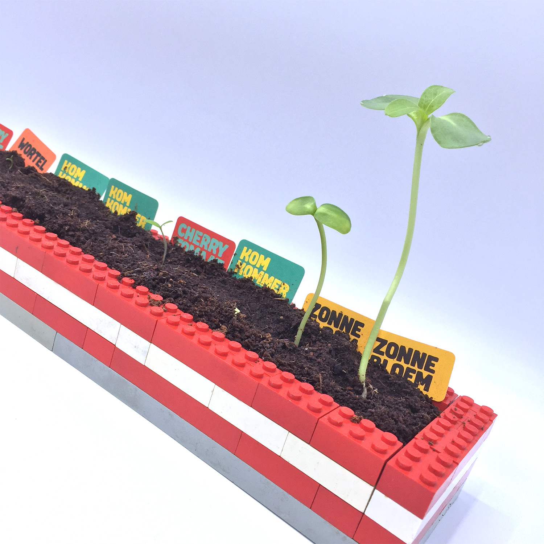 AH moestuintjes LEGO kweekbak Veel Bouwplezier