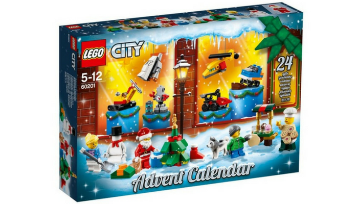 LEGO advent kalender 2018
