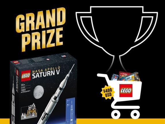 LEGO Wedstrijd Prijs