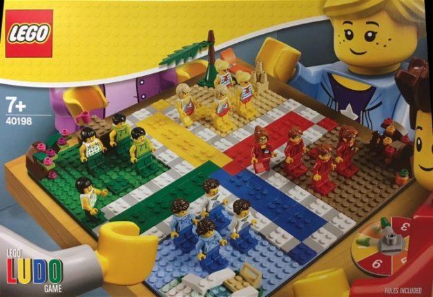 LEGO mens erger je niet