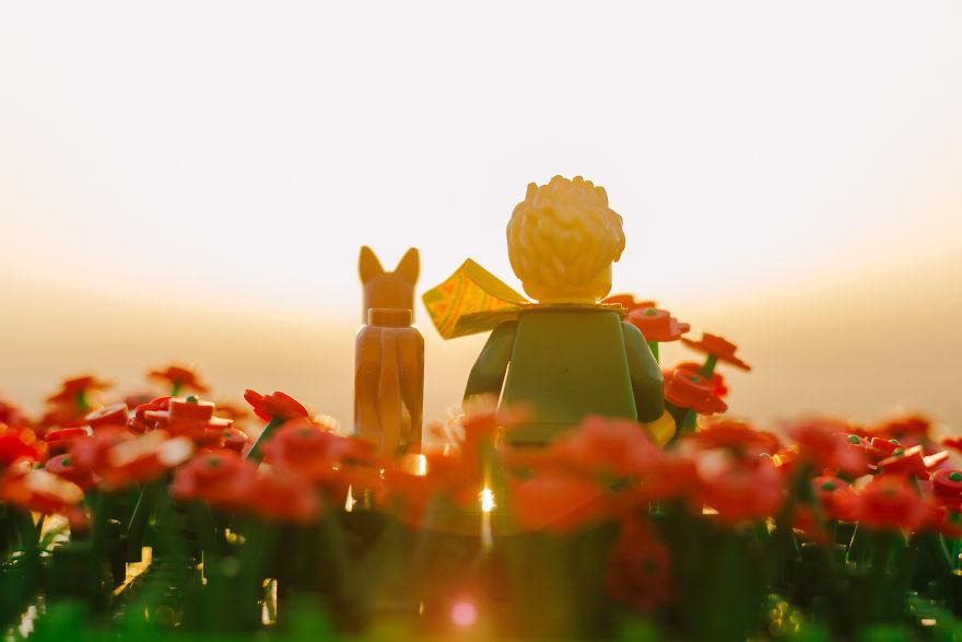 Le Petit Prince in LEGO
