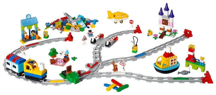LEGO Train Coding Express