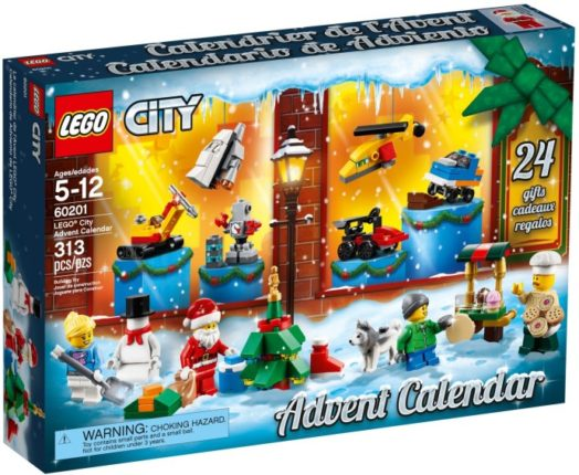 LEGO advent kalender 2018 city
