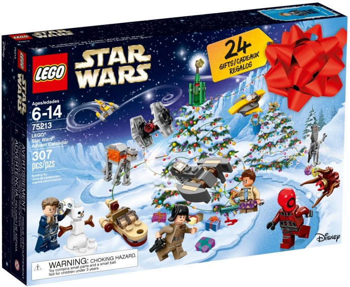 LEGO advent kalender 2018 star wars