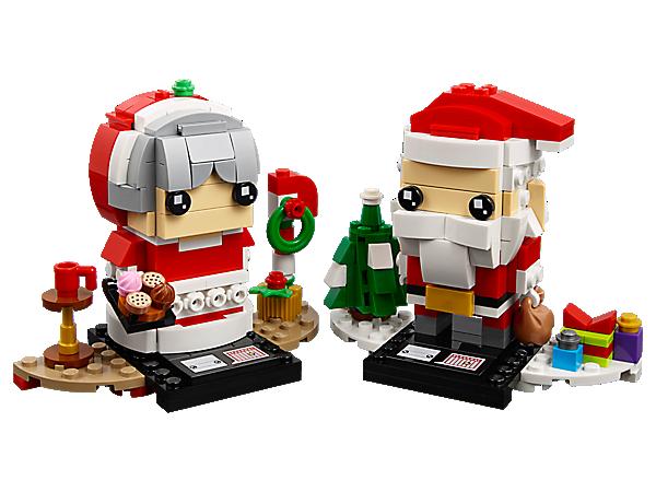 Kerstman brickheadz