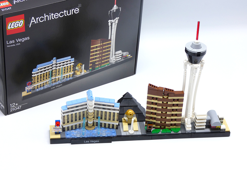 Review LEGO 21047 Las Vegas