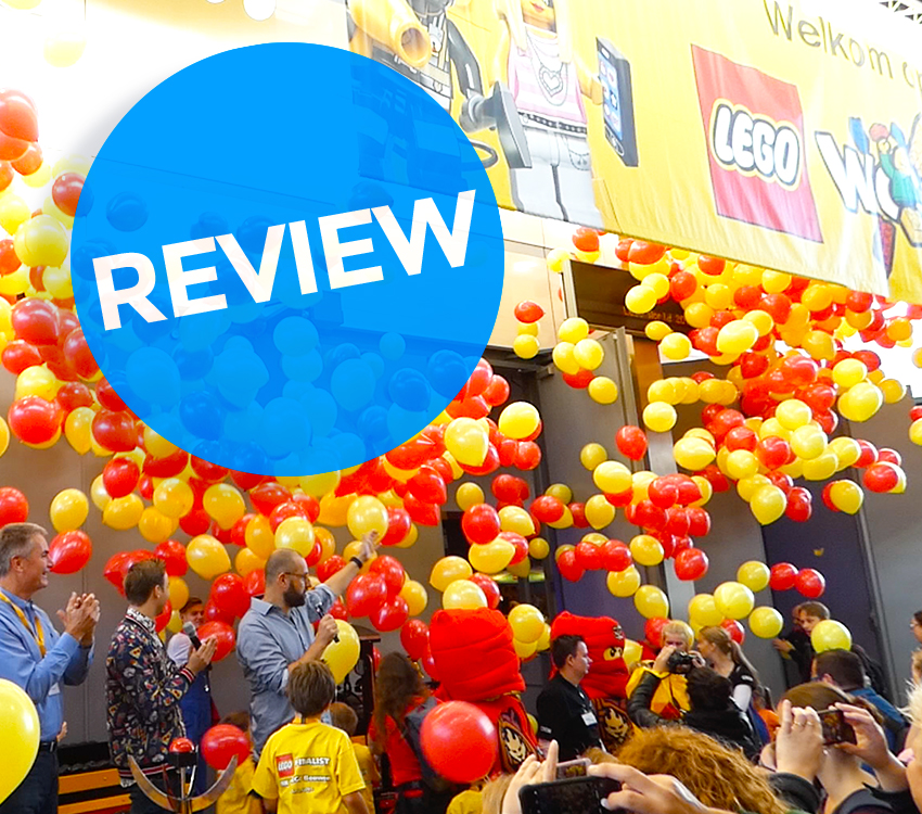 Review LEGO World 2018 - vbp