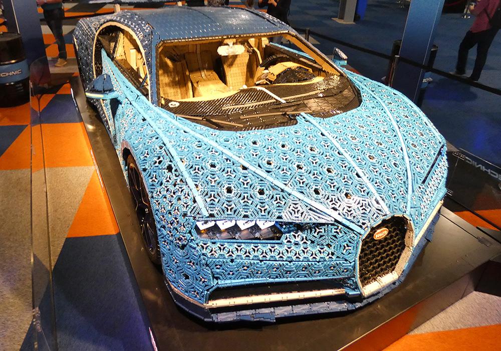 Review LEGO World 2018 - bugatti chiron