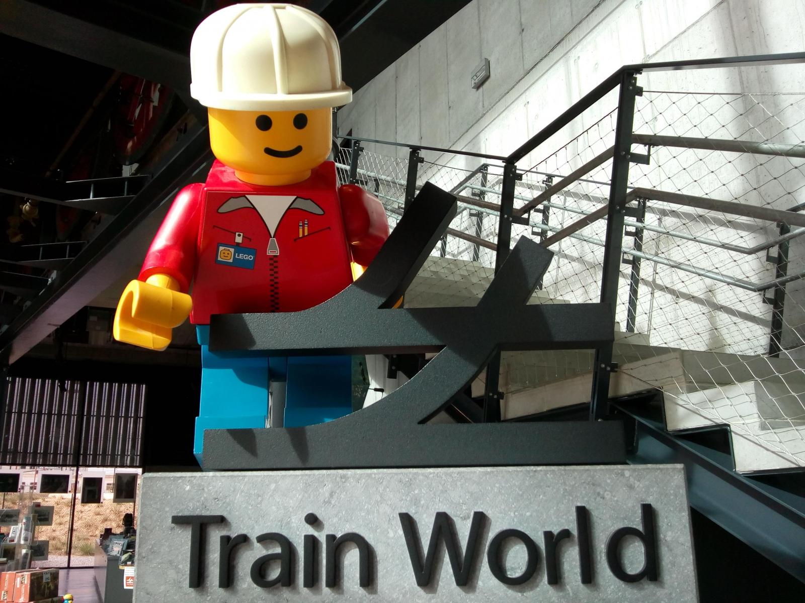 Train World en LEGO