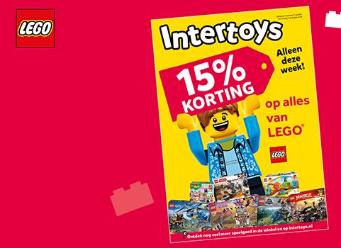 Decembertip 15 Korting Op Alle Lego Bij Intertoys Veel