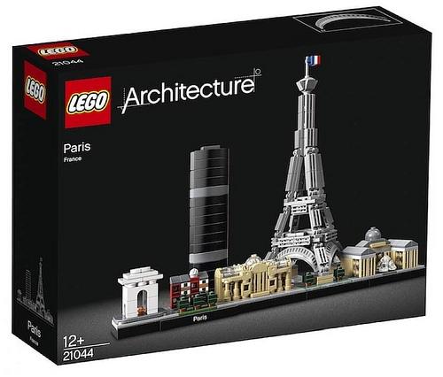 LEGO Architecture 2019 Parijs