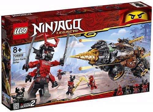 LEGO Ninjago Legacy 2019 70669