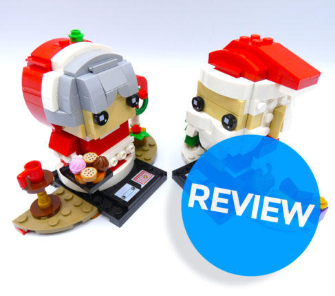 Review LEGO Brickheadz 40274