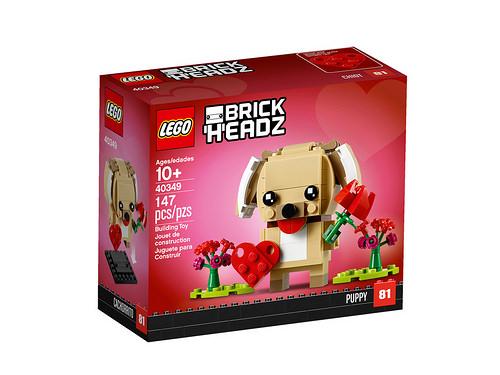 LEGO Seasonal Brickheadz 2019 valentijn