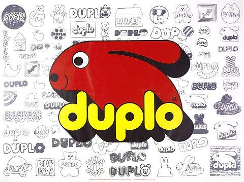 50 jaar DUPLO logo