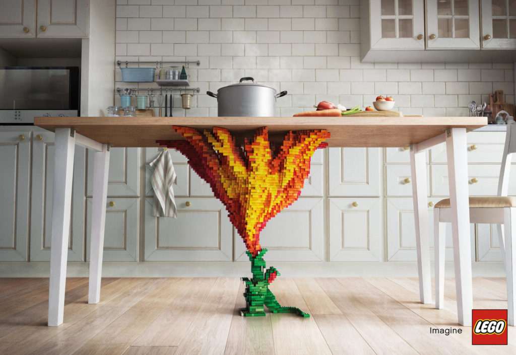 Creatieve constructies vuur