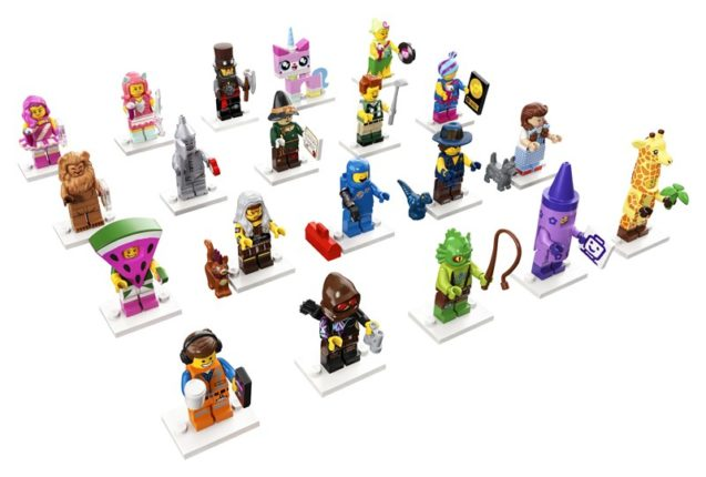 LEGO Movie 2 minifiguren