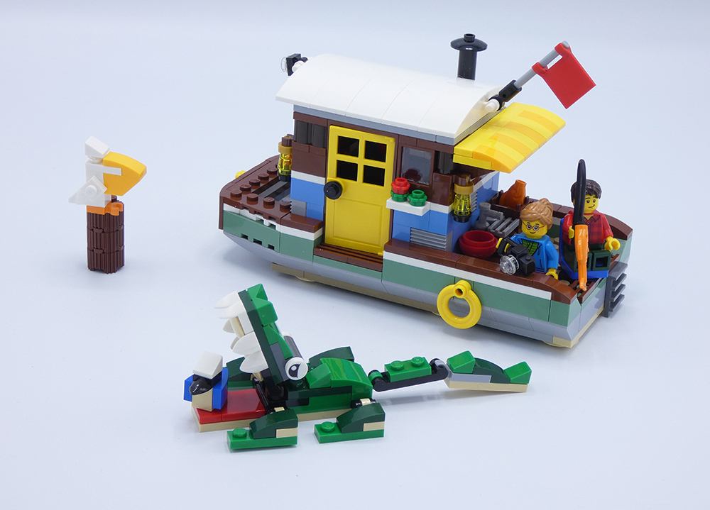 Review LEGO 31093