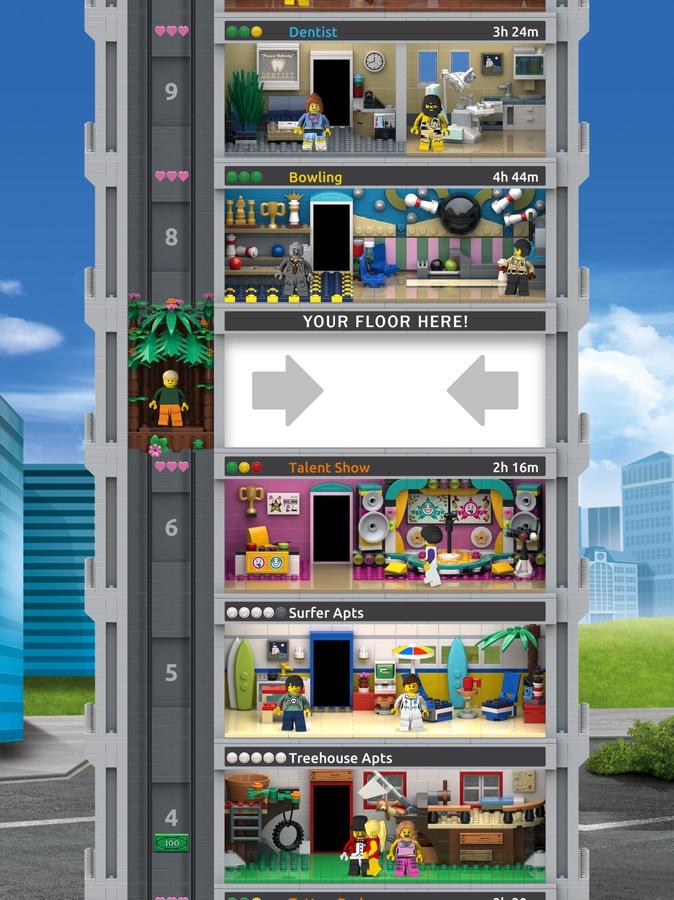 LEGO Tower spel winnaar