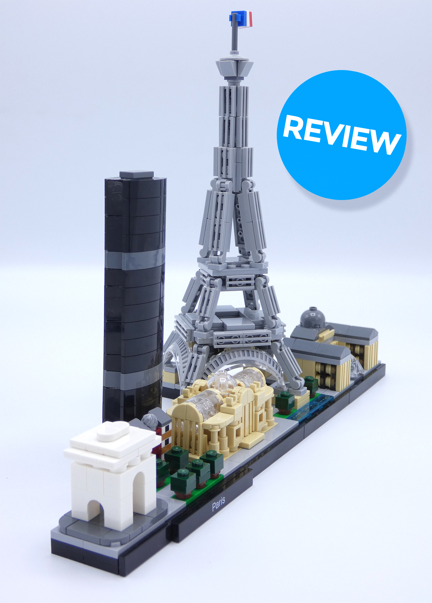 Review LEGO 21044 Parijs