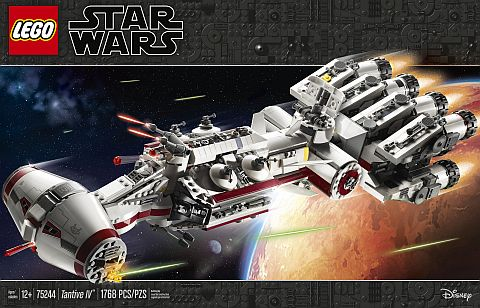 LEGO Star Wars Tantive IV doos