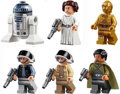 LEGO Star Wars Tantive IV minifiguren