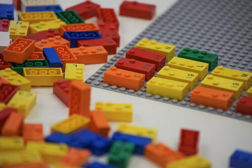 LEGO braille bricks uitgelicht