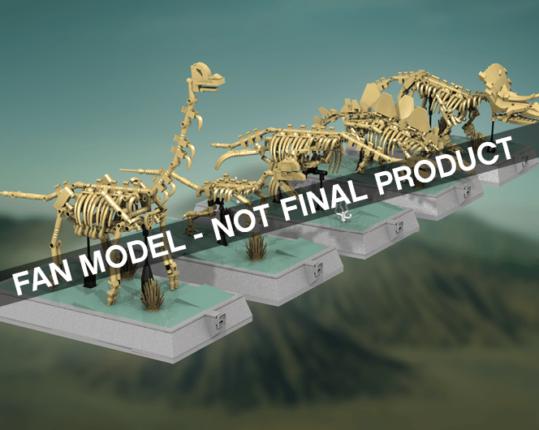 LEGO Dino skeletten