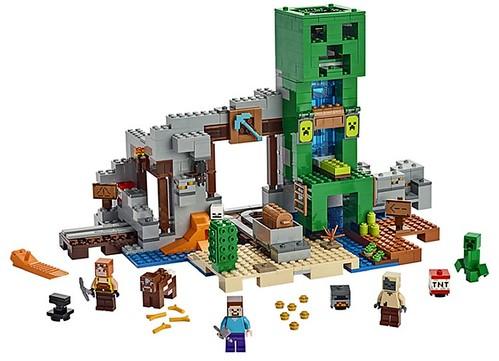 LEGO Minecraft zomer 2019 The Creeper Mine 21155