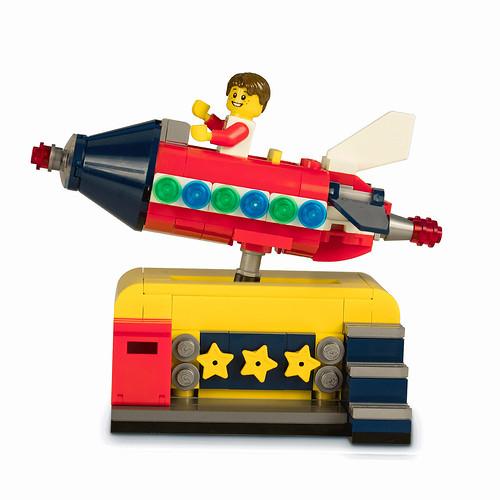 LEGO Space Rocket Ride