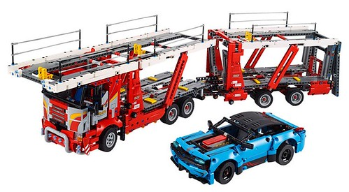 LEGO Technic zomer 2019 car transporter