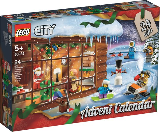 LEGO City advent kalender 2019