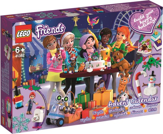 LEGO Friends advent kalender