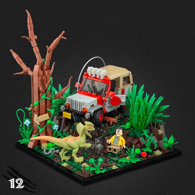 Jurassic Park MOC's