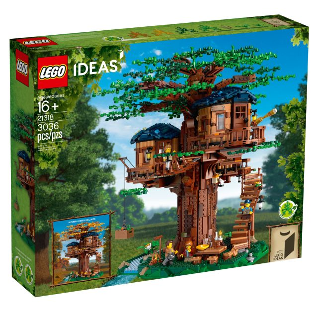 LEGO boomhut