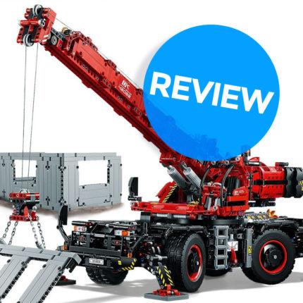 Review LEGO 42082 Kraan voor alle Terreinen