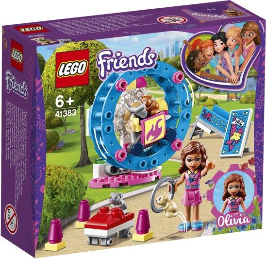 LEGO Friends hamsterspeelplaats
