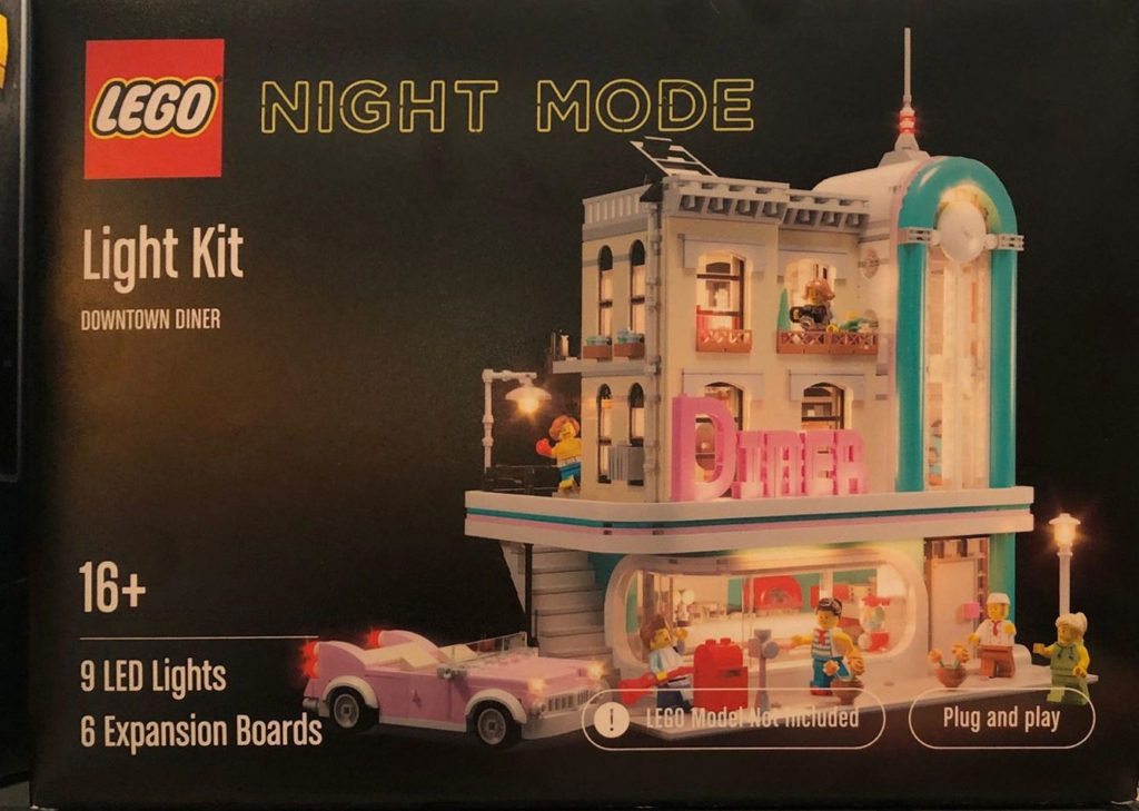 LEGO Night Mode Downtown