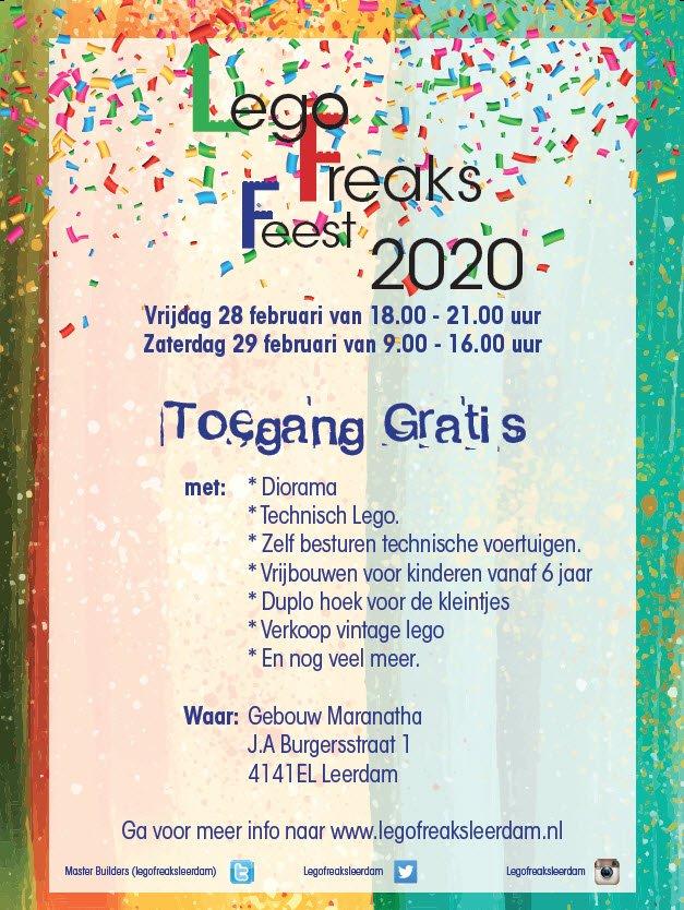 LEGOFreaks Leerdam 2020