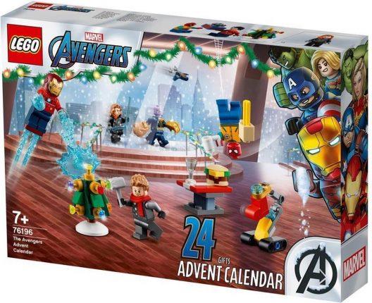 LEGO adventskalender marvel